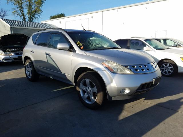 Nissan salvage cars for sale: 2003 Nissan Murano SL