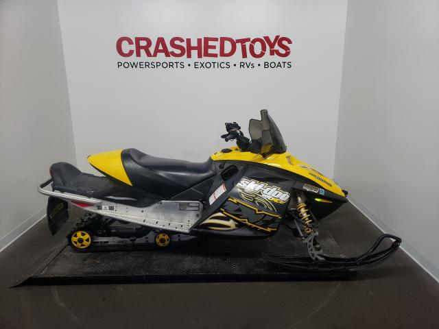 Salvage cars for sale from Copart Ham Lake, MN: 2007 Skidoo MXZ Renega