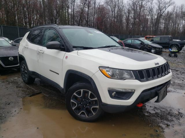 Salvage cars for sale from Copart Waldorf, MD: 2019 Jeep Compass TR