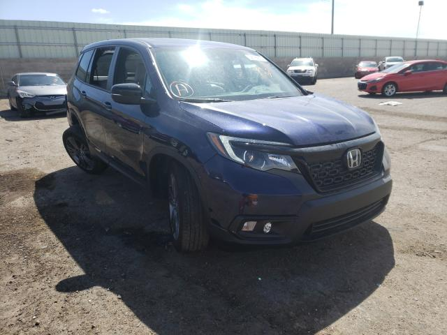 Salvage cars for sale from Copart Albuquerque, NM: 2019 Honda Passport E