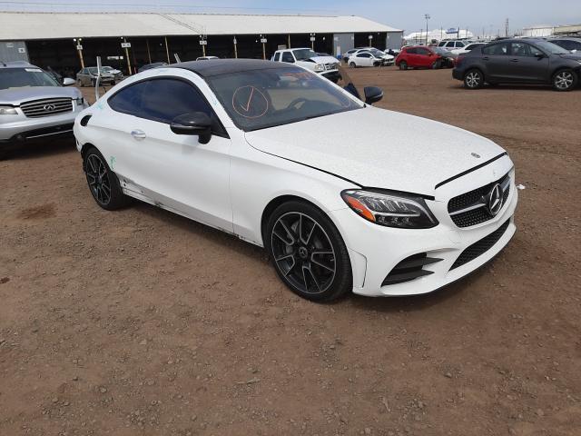 Salvage cars for sale from Copart Phoenix, AZ: 2019 Mercedes-Benz C300