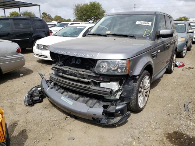 2011 LAND ROVER RANGE ROVE - Left Front View