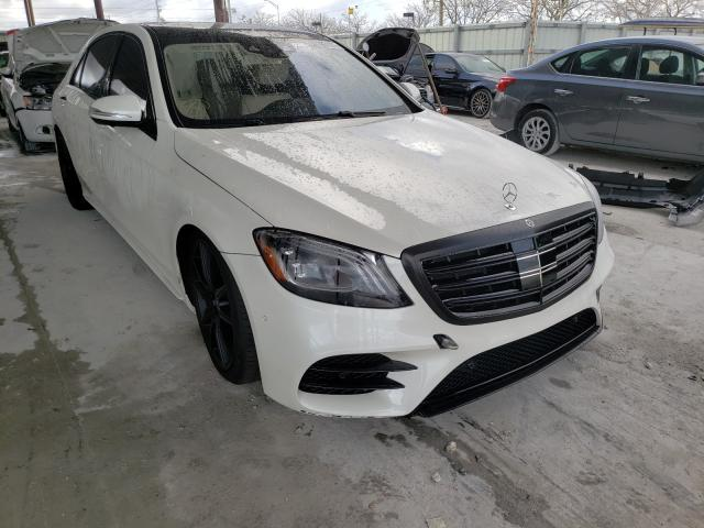 Salvage cars for sale from Copart Homestead, FL: 2020 Mercedes-Benz S 560