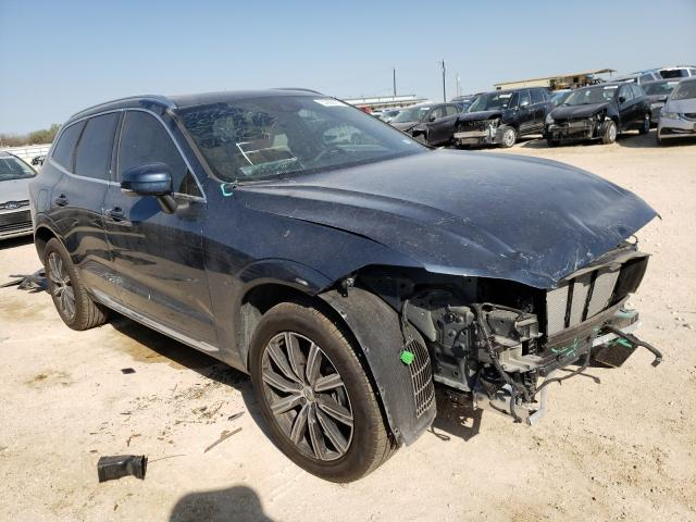 Salvage cars for sale from Copart San Antonio, TX: 2020 Volvo XC60 T5 IN
