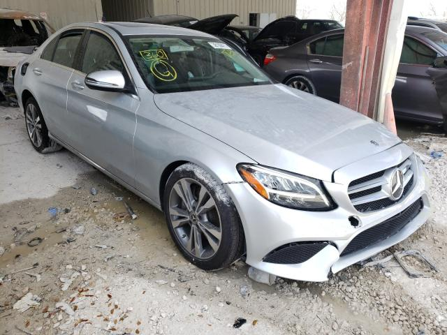 Salvage cars for sale from Copart Homestead, FL: 2020 Mercedes-Benz C300