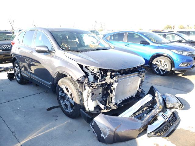 Vehiculos salvage en venta de Copart Grand Prairie, TX: 2019 Honda CR-V EXL