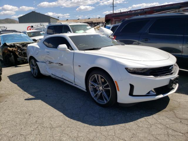 Salvage cars for sale from Copart Colton, CA: 2021 Chevrolet Camaro LS