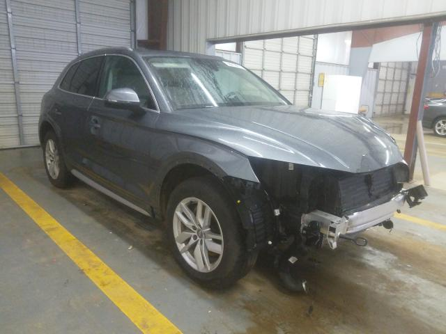Salvage cars for sale from Copart Mocksville, NC: 2020 Audi Q5 Premium