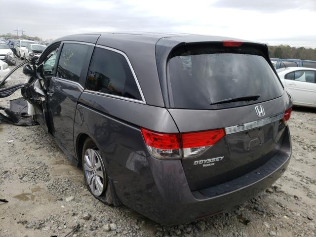 2014 HONDA ODYSSEY EX - Right Front View