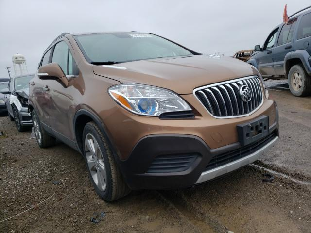 Salvage 2016 BUICK ENCORE - Small image. Lot 36193781