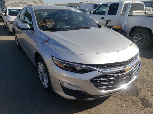 Salvage cars for sale from Copart Fresno, CA: 2019 Chevrolet Malibu LT