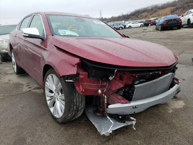 Salvage cars for sale from Copart Chicago Heights, IL: 2019 Chevrolet Impala PRE