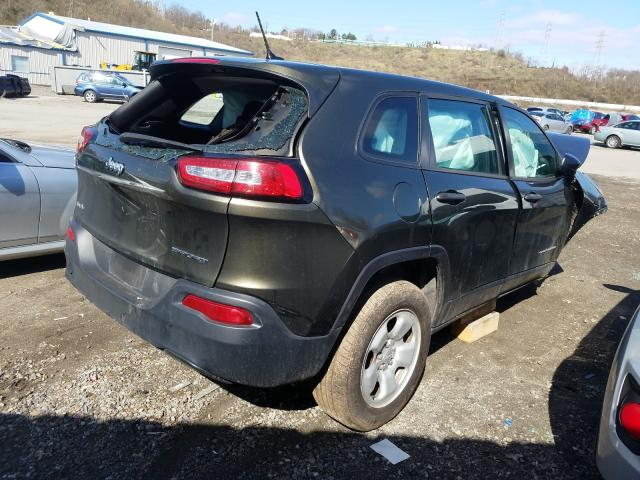 2014 JEEP CHEROKEE S - Right Rear View