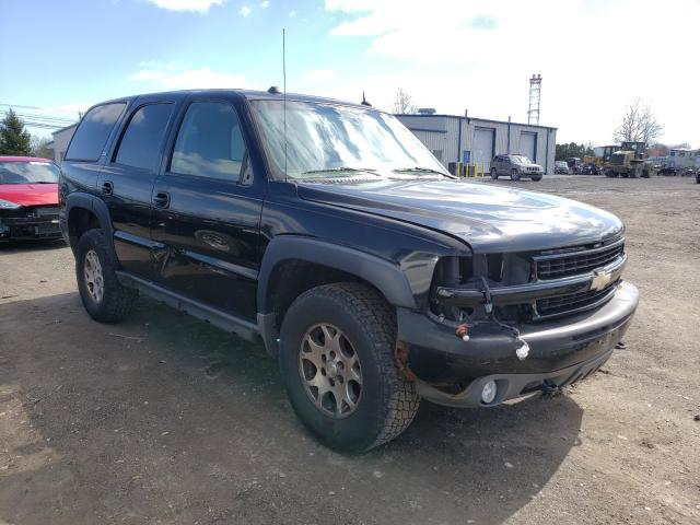 Salvage cars for sale from Copart Finksburg, MD: 2005 Chevrolet Tahoe K150