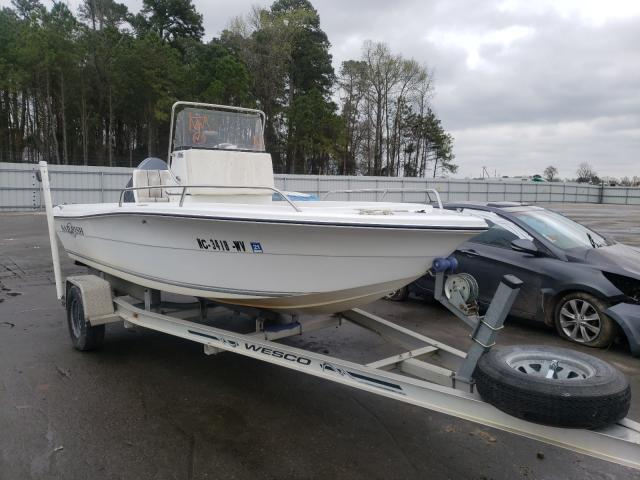 Salvage cars for sale from Copart Dunn, NC: 2002 Boat W TRL