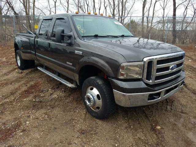 Salvage cars for sale from Copart Madison, WI: 2007 Ford F350 Super