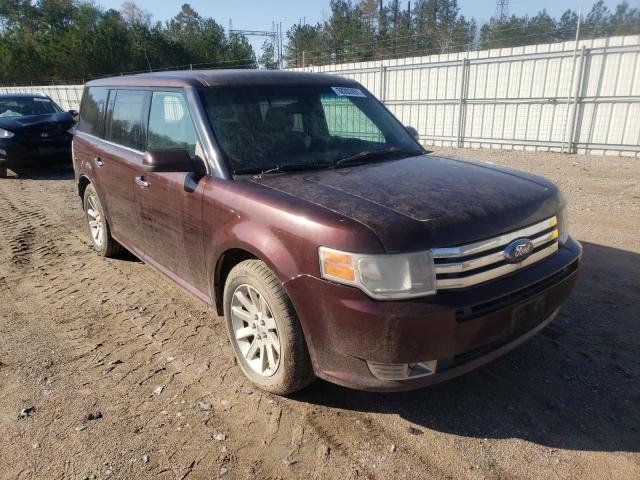 Salvage cars for sale from Copart Charles City, VA: 2010 Ford Flex SEL