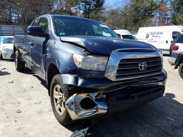 Salvage cars for sale from Copart Mendon, MA: 2009 Toyota Tundra DOU