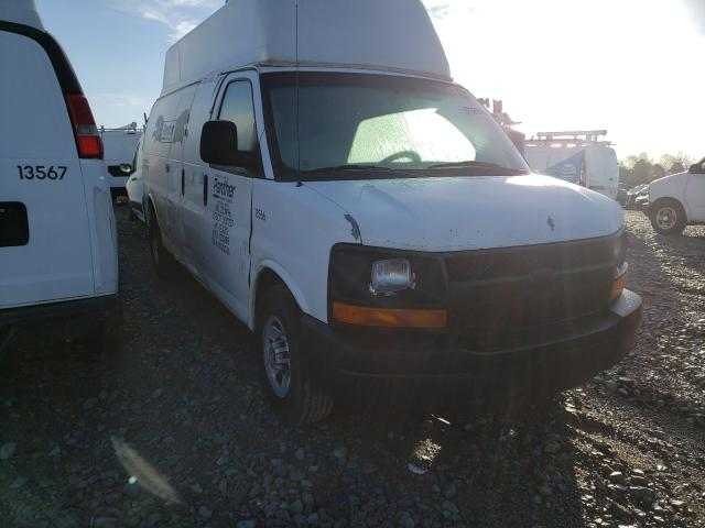 Chevrolet salvage cars for sale: 2011 Chevrolet Express G3
