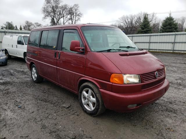 Salvage cars for sale from Copart Albany, NY: 2003 Volkswagen Eurovan GL