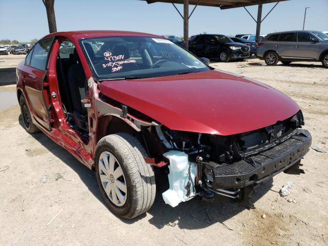Salvage cars for sale from Copart Temple, TX: 2016 Volkswagen Jetta S