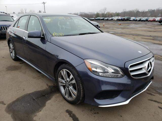 Salvage cars for sale from Copart New Britain, CT: 2015 Mercedes-Benz E 350 4matic
