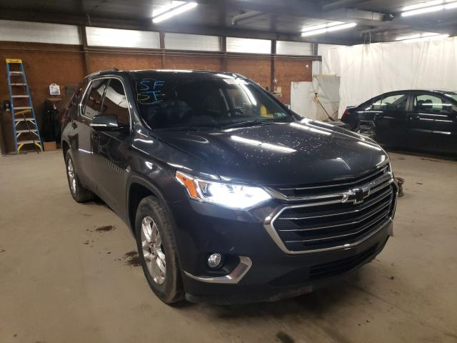 Salvage cars for sale from Copart Ebensburg, PA: 2018 Chevrolet Traverse L