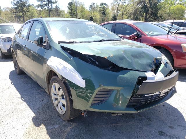 Salvage cars for sale from Copart Savannah, GA: 2014 Toyota Corolla L