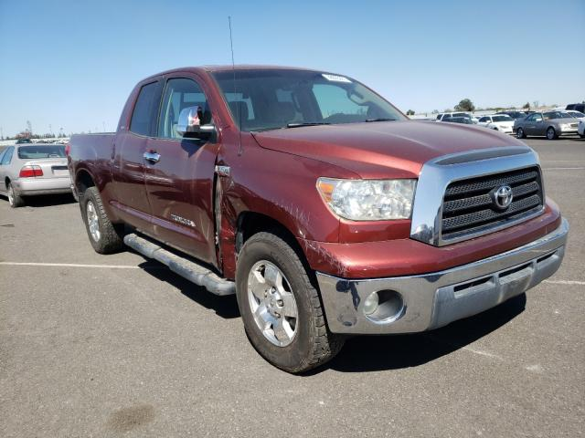 Salvage cars for sale from Copart Sacramento, CA: 2008 Toyota Tundra DOU