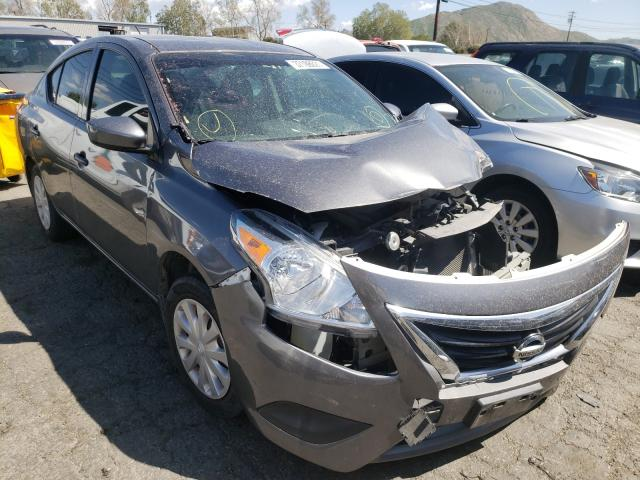 Salvage cars for sale from Copart Colton, CA: 2017 Nissan Versa S