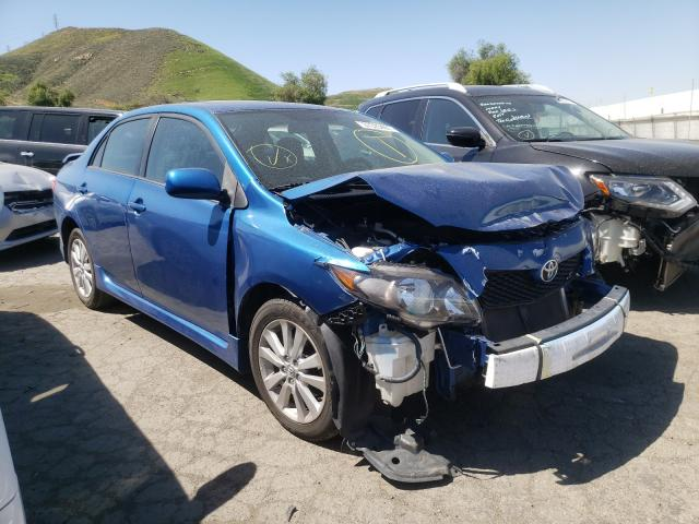 Salvage cars for sale from Copart Colton, CA: 2009 Toyota Corolla BA