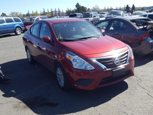 Nissan salvage cars for sale: 2018 Nissan Versa S