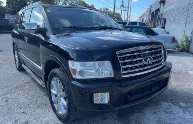Infiniti salvage cars for sale: 2008 Infiniti QX56