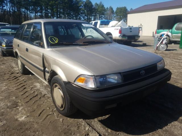 Salvage cars for sale from Copart Seaford, DE: 1992 Toyota Corolla DL