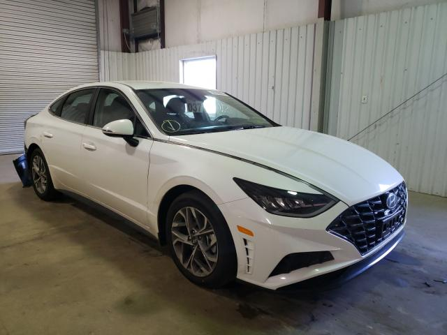 Salvage cars for sale from Copart Lufkin, TX: 2021 Hyundai Sonata SEL