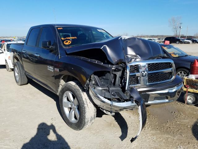 Salvage cars for sale from Copart Kansas City, KS: 2017 Dodge RAM 1500 SLT