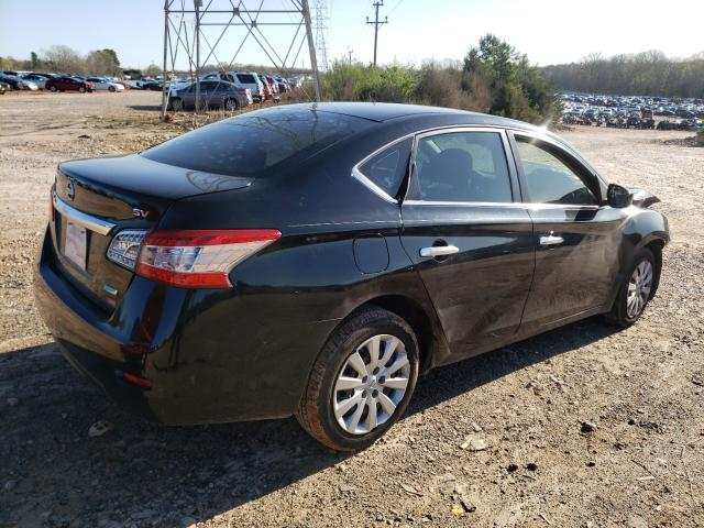 2013 NISSAN SENTRA S - Right Rear View