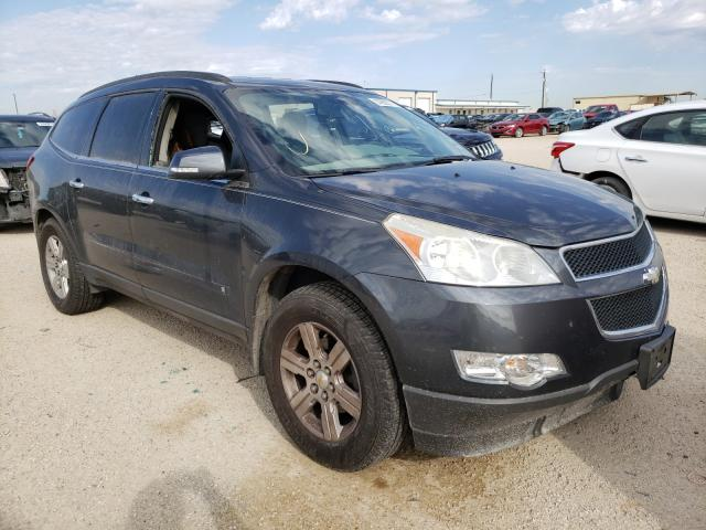 Salvage cars for sale from Copart San Antonio, TX: 2010 Chevrolet Traverse L