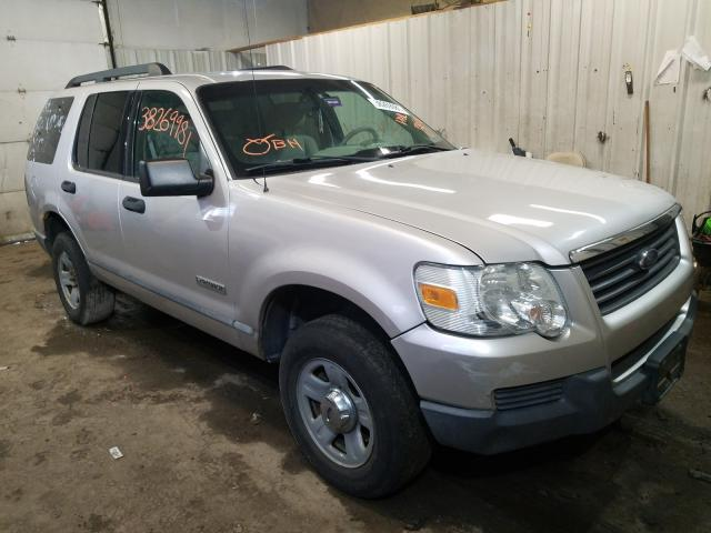 Salvage cars for sale from Copart Lyman, ME: 2006 Ford Explorer X