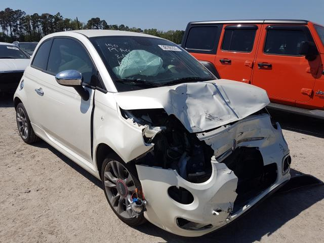 Fiat salvage cars for sale: 2015 Fiat 500 Sport