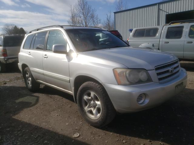 2002 Toyota Highlander en venta en Portland, OR