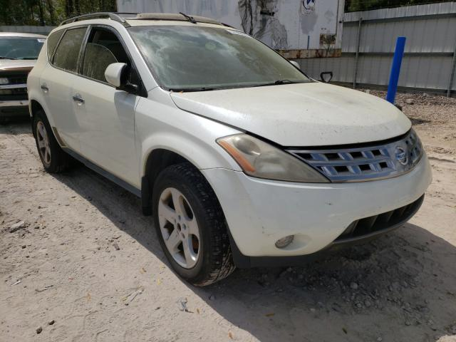 Salvage cars for sale from Copart Midway, FL: 2005 Nissan Murano SL