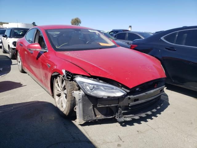 Salvage cars for sale from Copart Martinez, CA: 2013 Tesla Model S