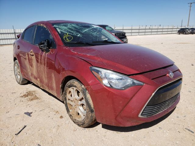 Salvage cars for sale from Copart Andrews, TX: 2017 Toyota Yaris IA