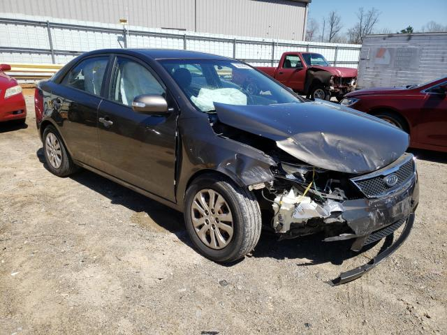 Salvage cars for sale from Copart Chatham, VA: 2010 KIA Forte EX