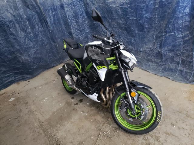 Kawasaki ZR900 F salvage cars for sale: 2021 Kawasaki ZR900 F