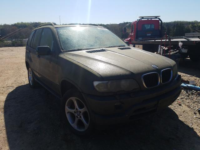 Salvage cars for sale from Copart China Grove, NC: 2002 BMW X5