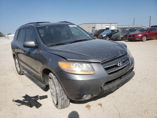 Salvage cars for sale from Copart San Antonio, TX: 2009 Hyundai Santa FE S