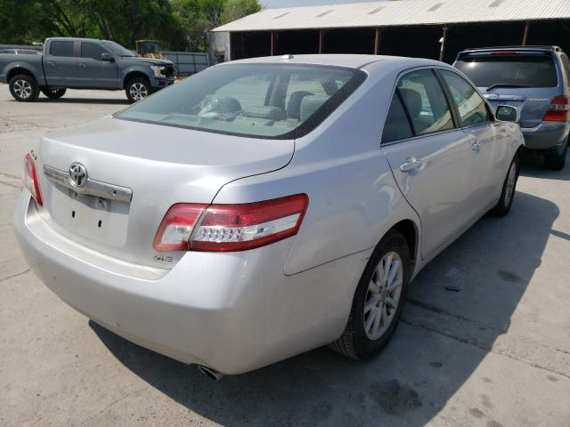 2011 TOYOTA CAMRY BASE - Right Rear View