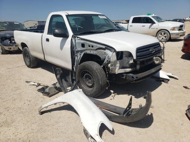 Salvage cars for sale from Copart San Antonio, TX: 2002 Toyota Tundra
